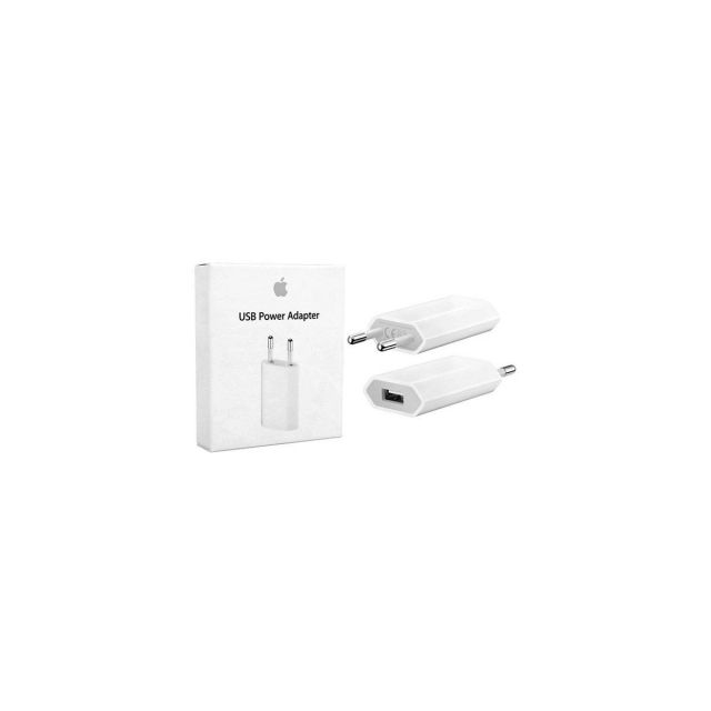 Cargador Apple original 5W euro