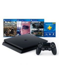 Consola Playstation 4 1tb + 3 juegos + plus